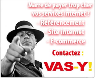 creation de site internet Groupe Vas-y